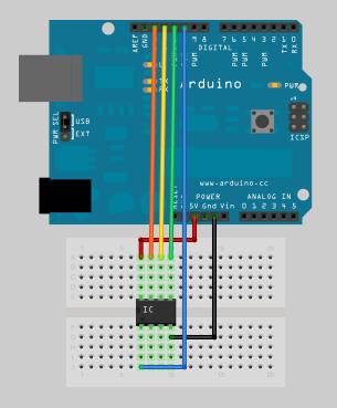 Arduino ISP ATtiny13-25-45-85