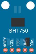 Fritzing - BH1750