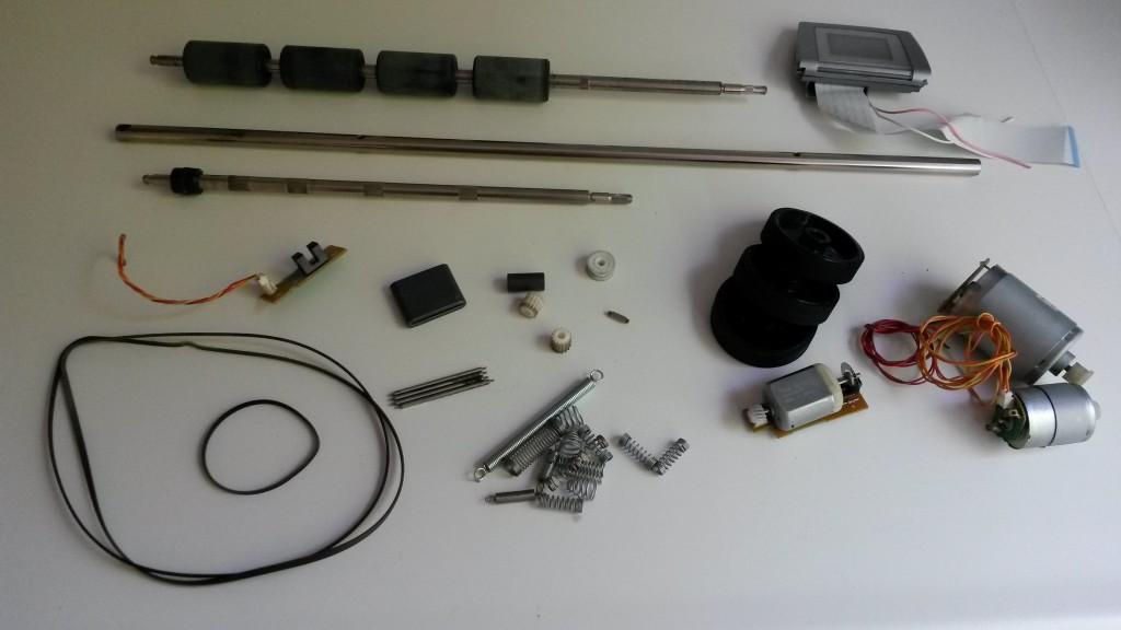 HP Photosmart 7550 onderdelen
