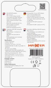 Maxxter WiFi USB Adapter 300Mbps verpakking achterkant