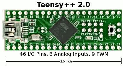 Teensyduino++ 2.0 board