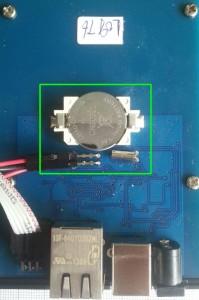 arexx BS-1000 batterij