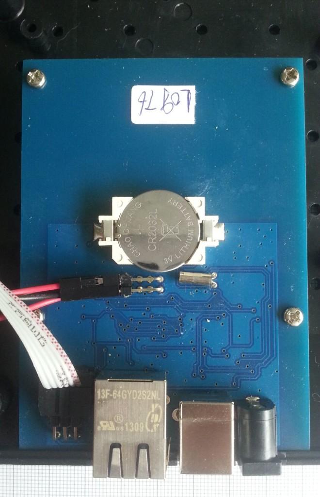 arexx BS-1000 binnenkant closeup