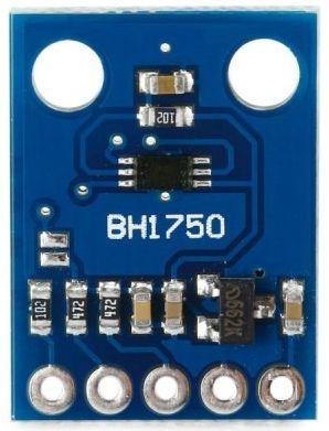 bh1750 - gy-302 licht module bovenkant