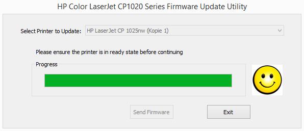 HP LaserJet CP 1025nw firmware update tool 02