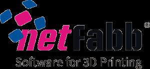 netfabb logo en slogan