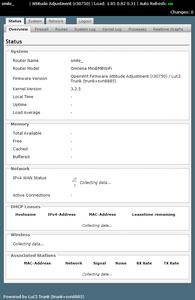 openwrt luci interface 01