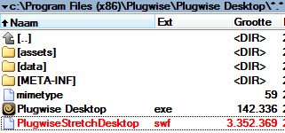 plugwise desktop swf flash bestand