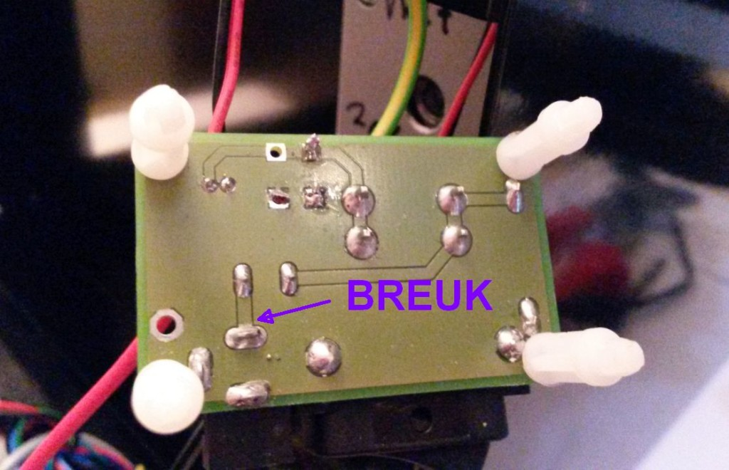 Builder 3D Reparatie voedingsprint 04