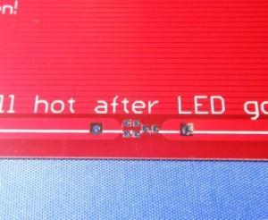 PCB Heatbead MK2 detail