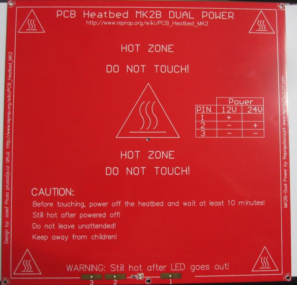 PCB Heatbead MK2b