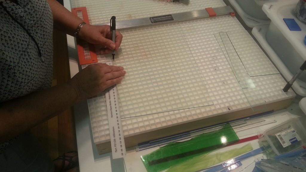 Prusa i3 - heated bed glasplaat 01