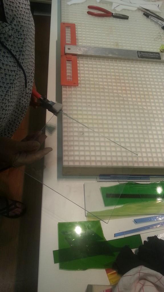 Prusa i3 - heated bed glasplaat 03