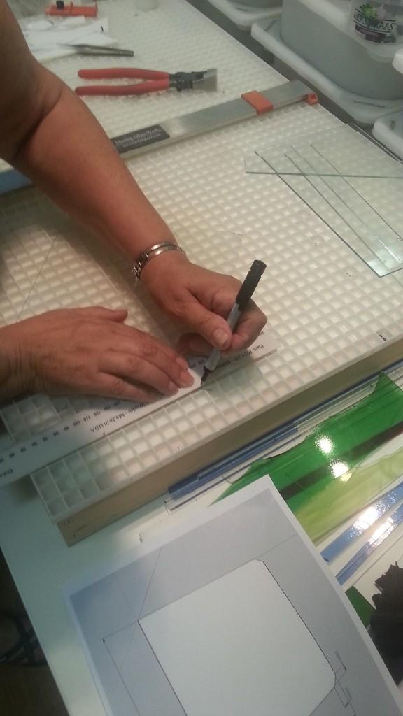 Prusa i3 - heated bed glasplaat 04