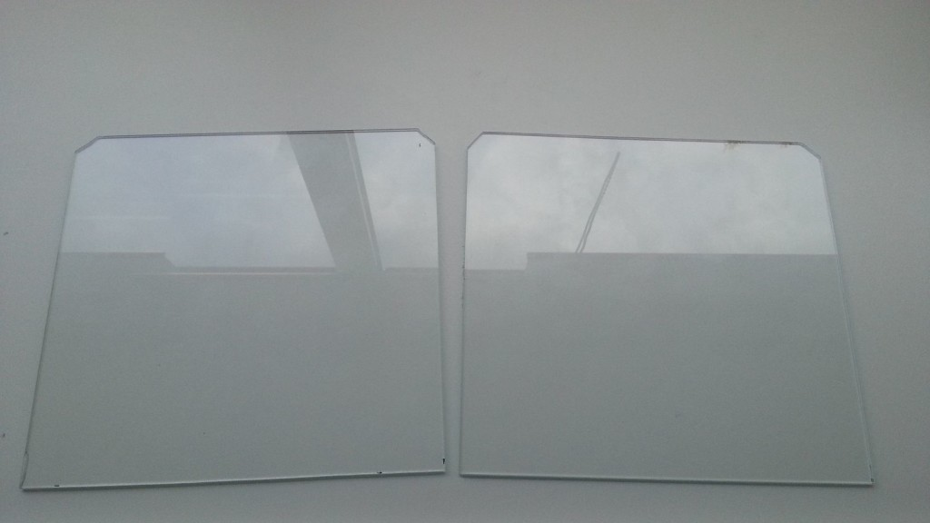 Prusa i3 - heated bed glasplaat 09