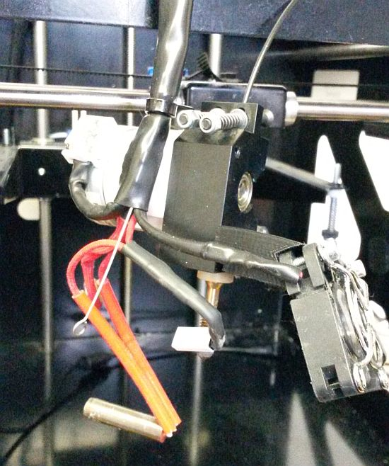 builder 3d extruder en nozzle afkoppelen 01