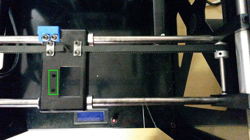 builder 3d extruder en nozzle afkoppelen 02