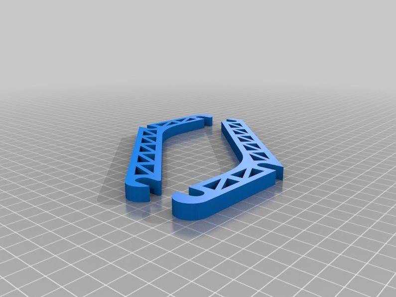 prusa i2 mendel simple spool holder model