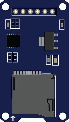 Catalex MicroSD Module