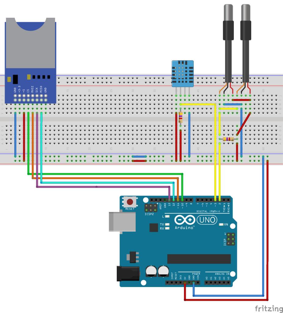 DomoticX - Arduino weerstation v1.0