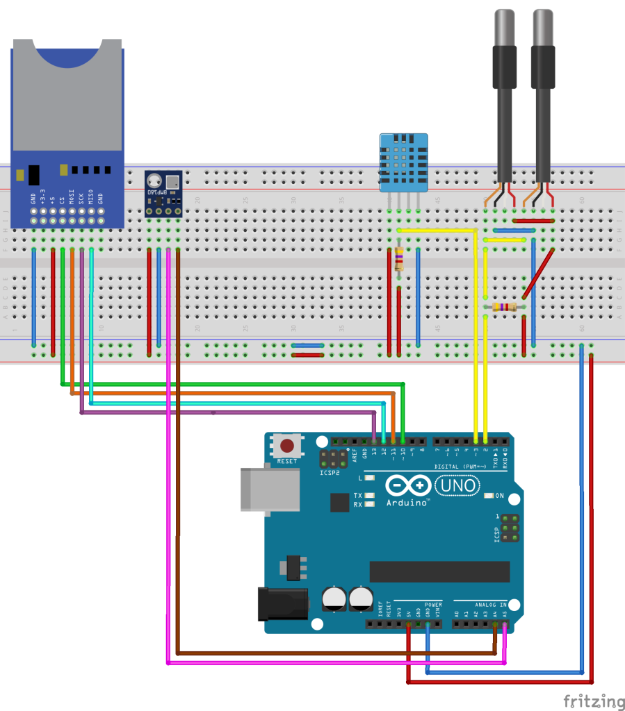 DomoticX - Arduino weerstation v1.1