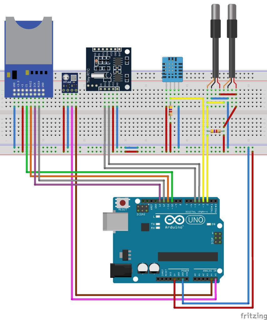 DomoticX - Arduino weerstation v1.2