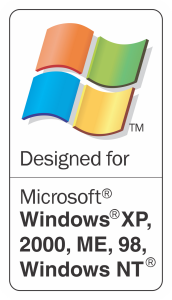 Designed for Windows XP, 2000, ME, 98, Windows NT