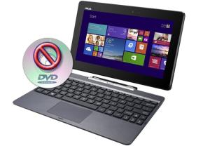 Geen CD-DVD speler netbook