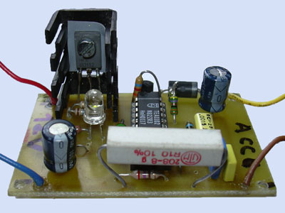 IC laadcontroller TEA1102 print