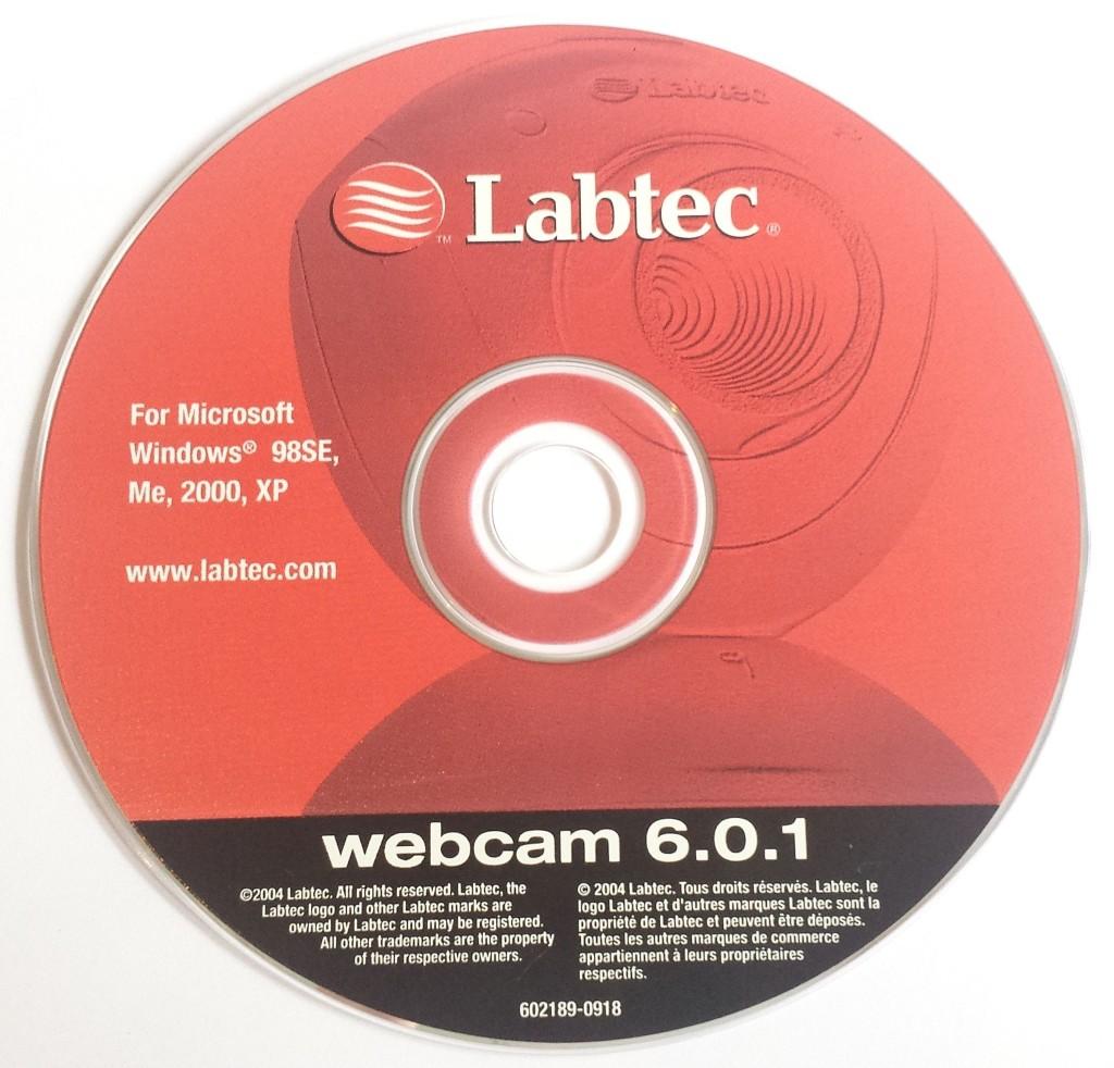 Labtec webcam 6.0.1 CD-Rom