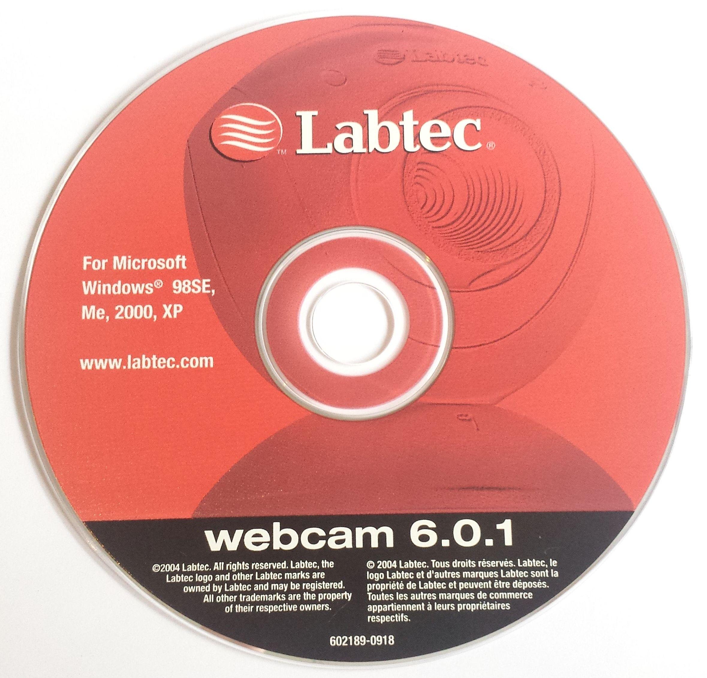 Labtec Webcam  Cd Rom