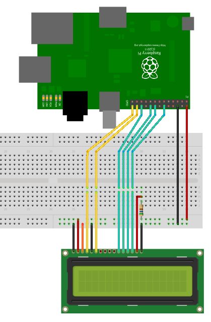 Raspberry-Pi-HD44780-LCD-Circuit