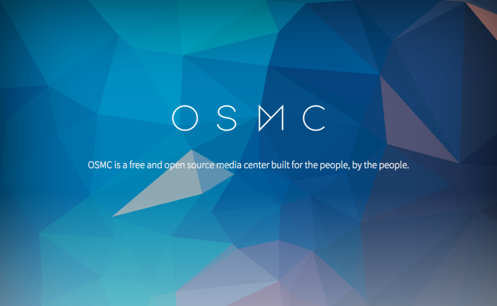 osmc logo screen