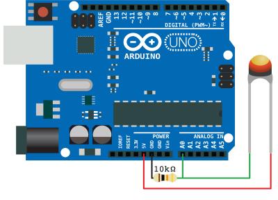 Arduino NTC schema