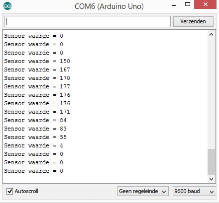 Grondvochtigheid sensor module (3-aderig) arduino console