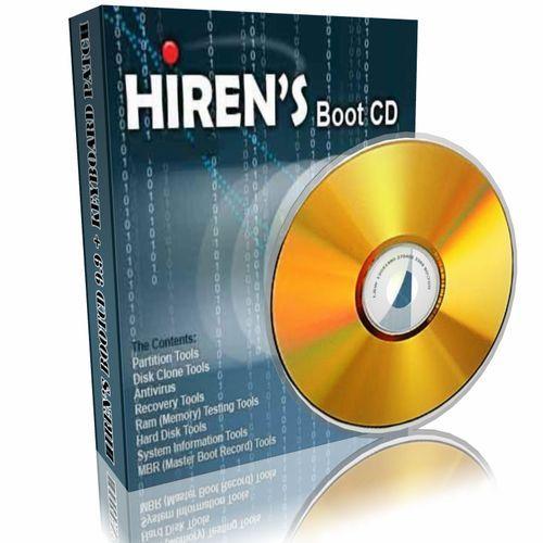 Hiren's BootCD doos