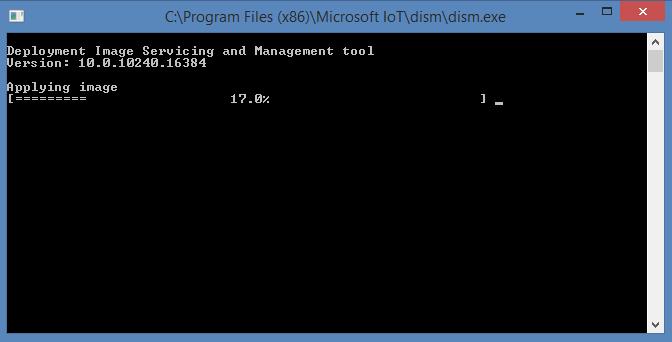 Windows 10 IoT core image helper 02