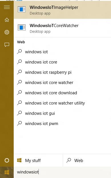 Windows 10 IoT helper