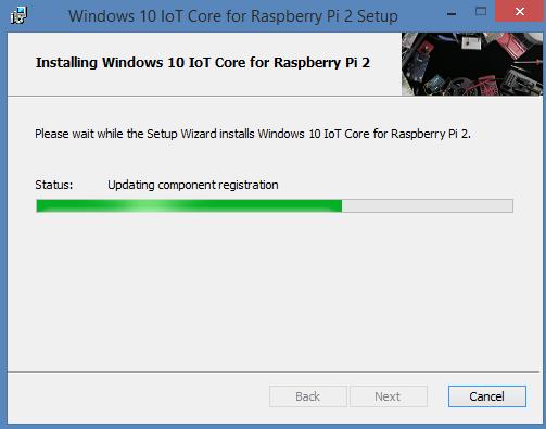 Windows 10 IoT installatie