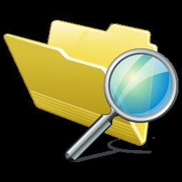 folder zoeken icon