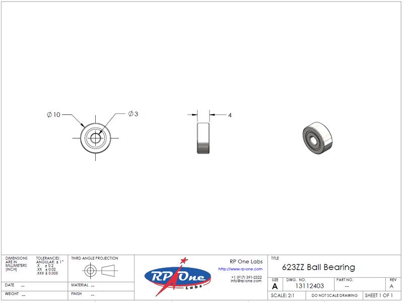 623ZZ Ball Bearing