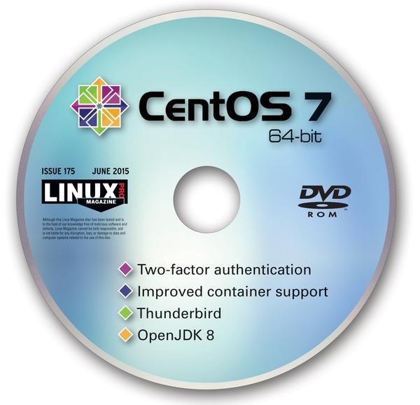 CentOS 7 cd label