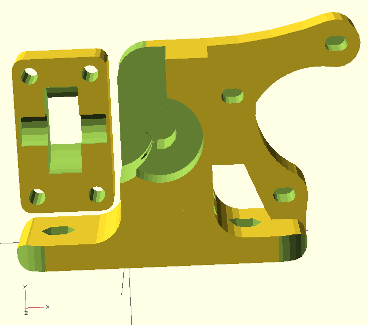 Extruder - Greg's Accessible Wade's Extruder model 01