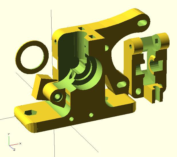 Extruder - Greg's Guidler model 01