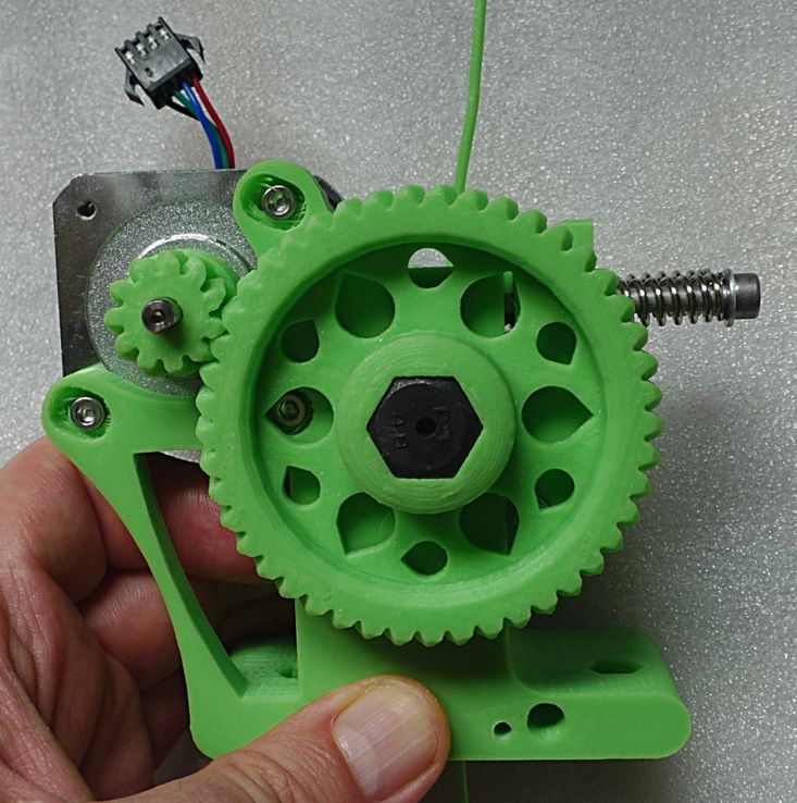 Extruder - Ultimate Greg's Wade's Geared Extruder foto 01