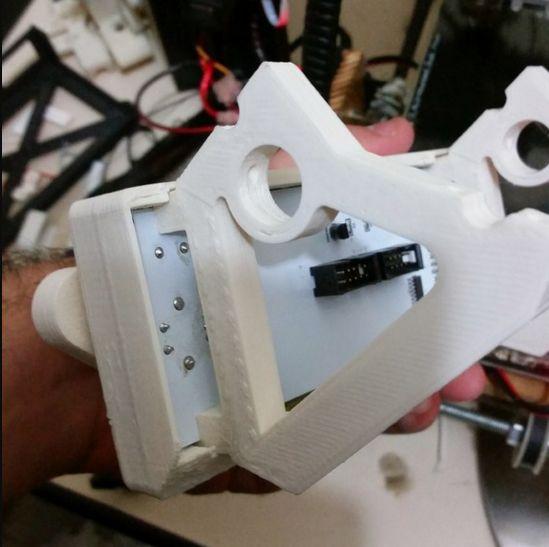 LCD scherm houder (RepRapDiscount) (Prusa i2 mendel) foto 04