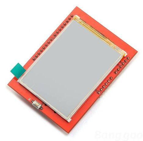 MCUFriend 2.4 inch LCD Shield - ILI9341 driver (0x9341) 01 - bovenkant