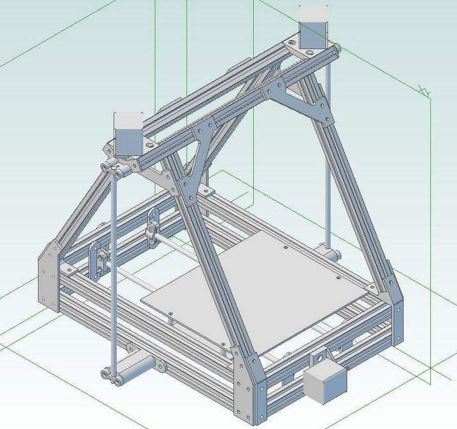 MendelMax 1 model