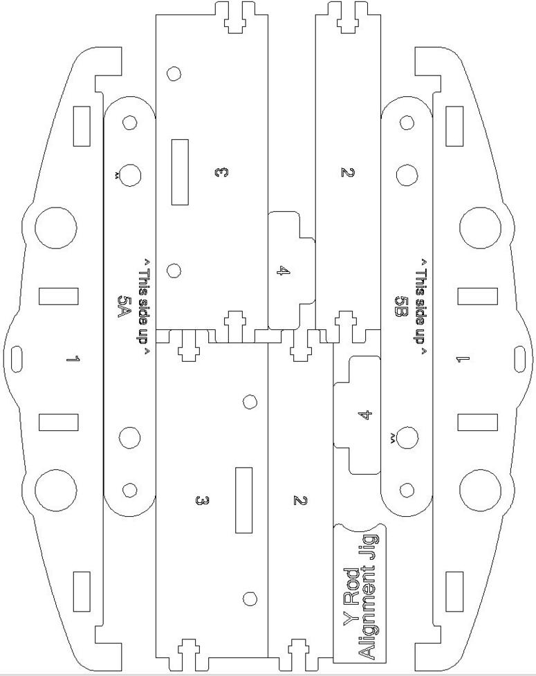 MendelMax 1.5 laser cut Y Axis