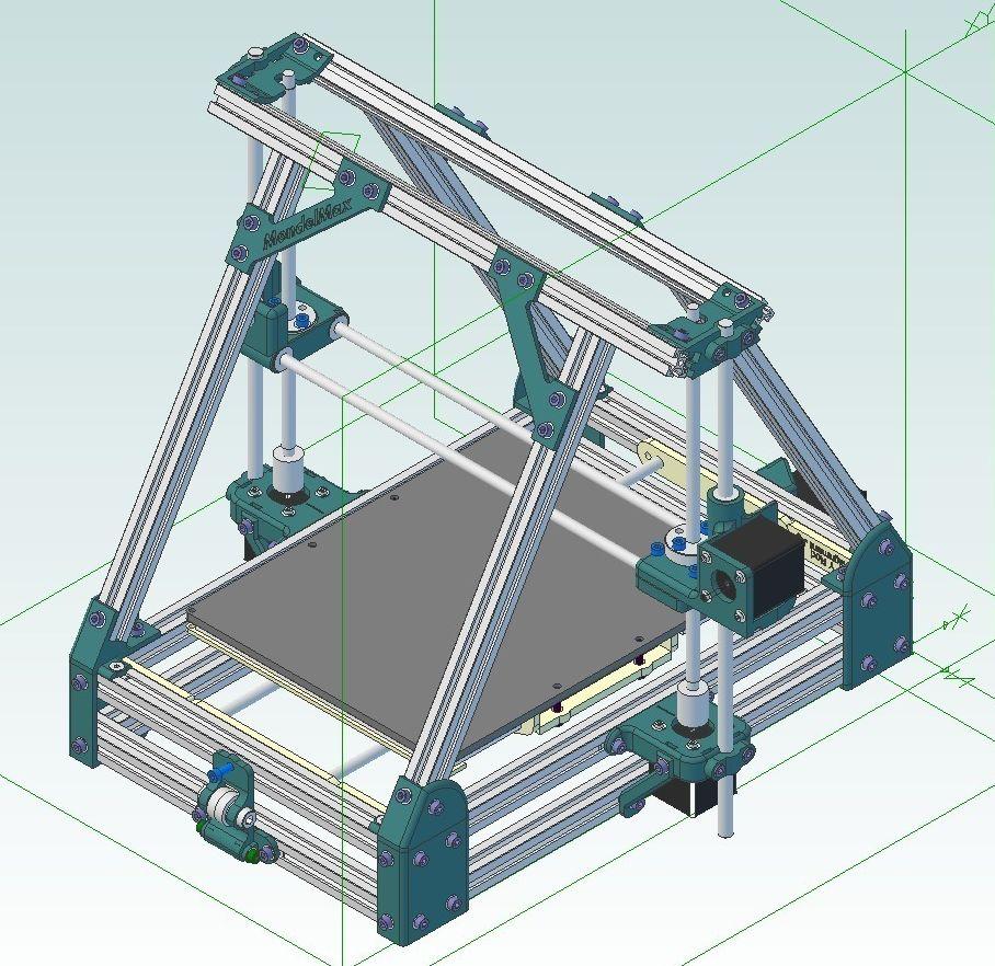 MendelMax 1.5 model